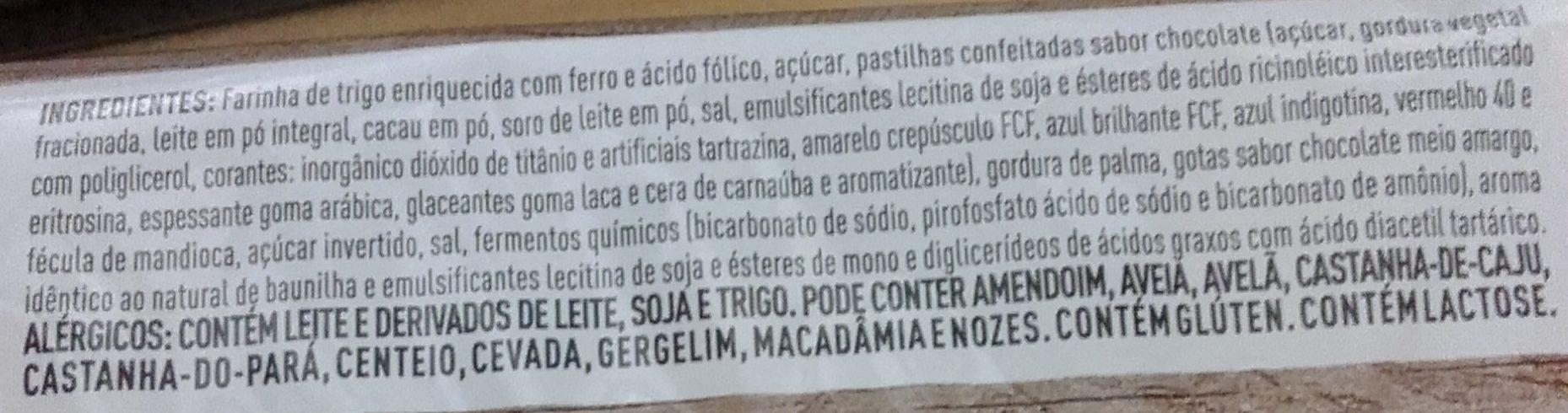 Cookies de Baunilha com Confeitos Qualitá - Ingredients