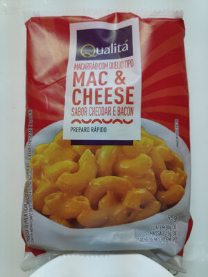 Macarrão com queijo tipo MAC & CHEESE sabor Cheddar e Bacon - Produto - pt