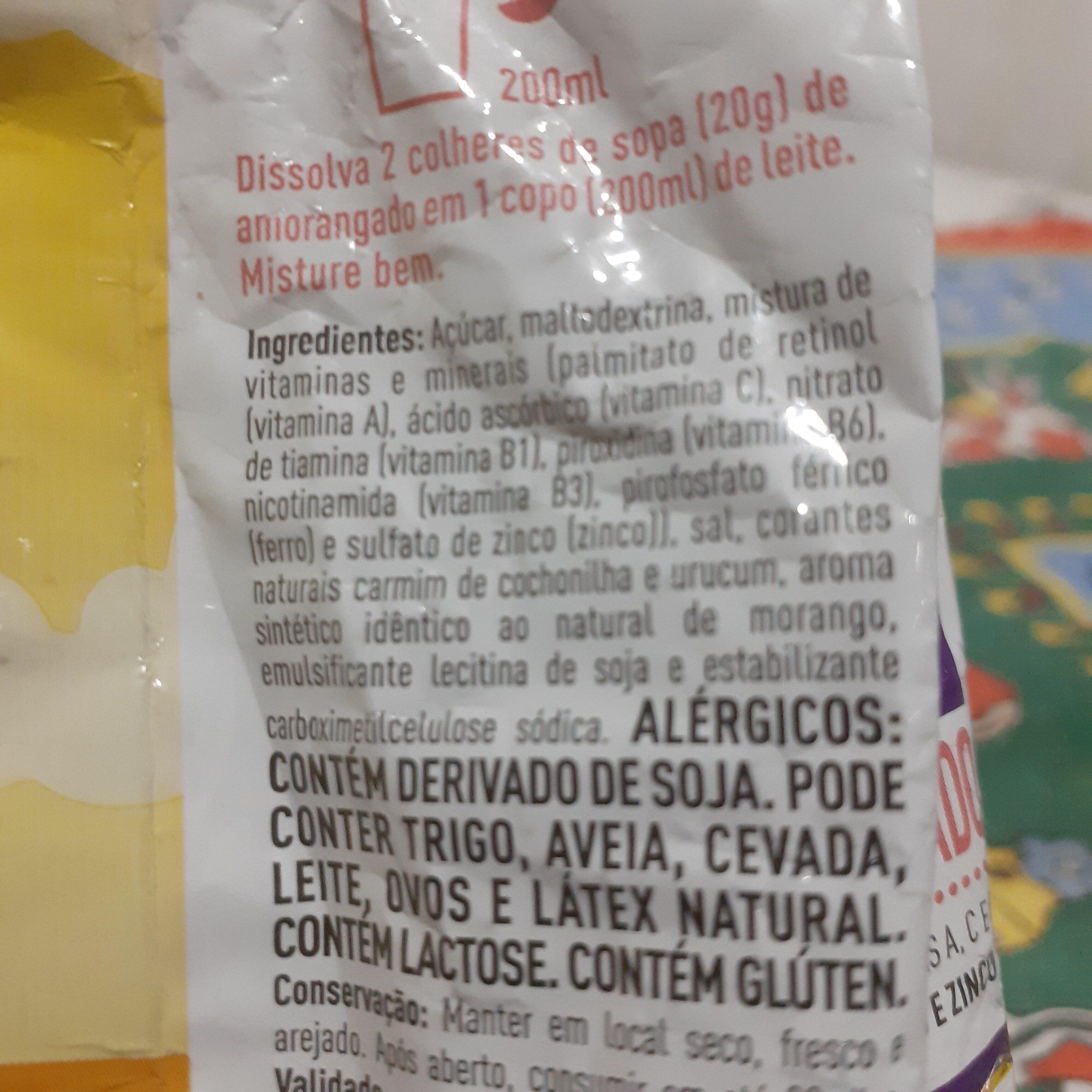 Amorangado - Ingredients - en