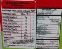 Maguary Maracujá - Nutrition facts