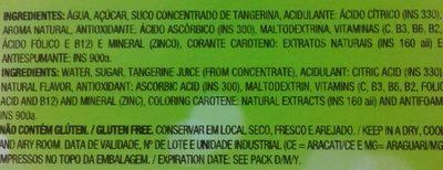 Maguary Néctar de Tangerina - Ingredients