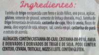 Pão de frutas, grãos e castanhas - Ingredients - pt