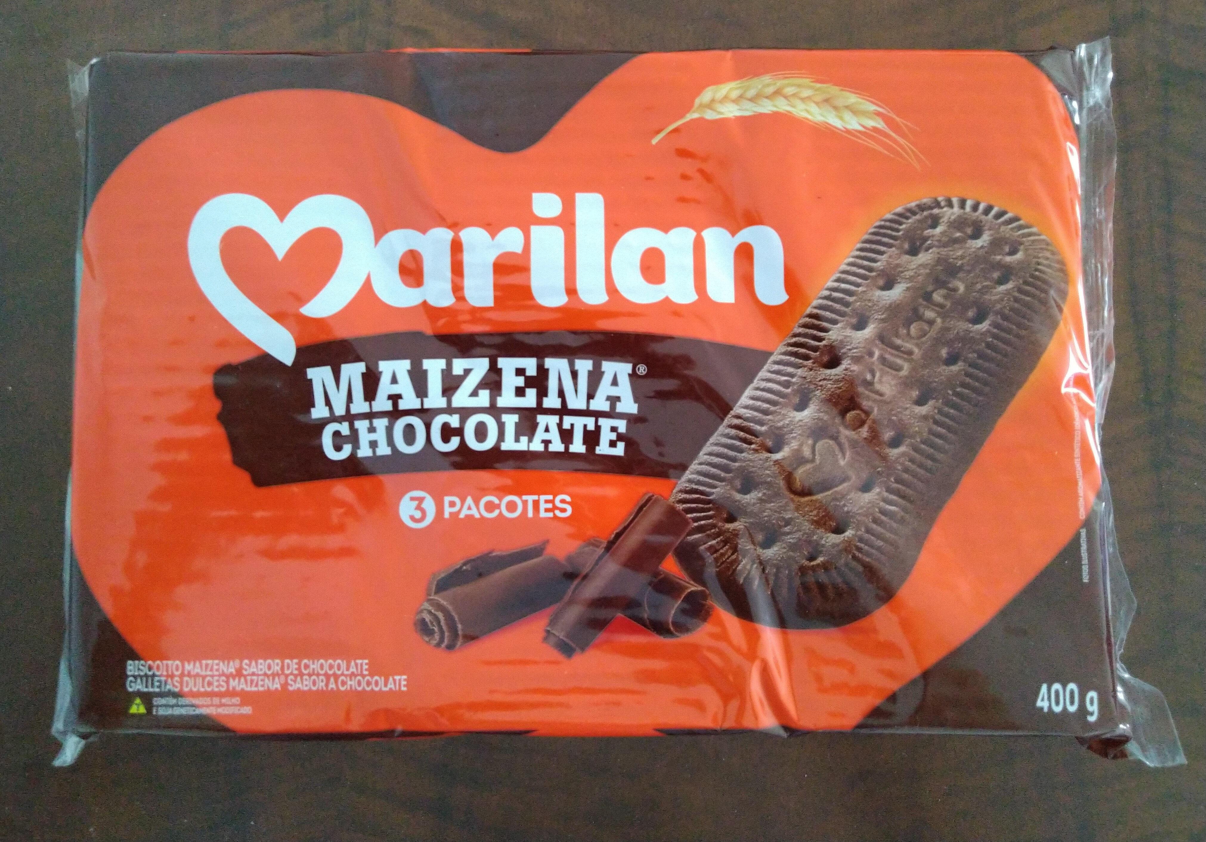 Biscoito Maizena Sabor de Chocolate - Produto - pt