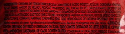 Biscoito Maria - Ingredients