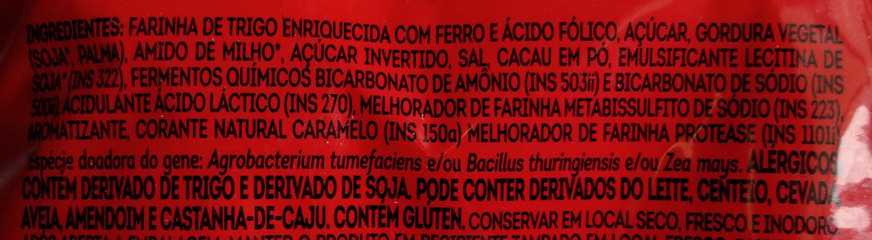 Biscoito Maria - Ingredientes - pt