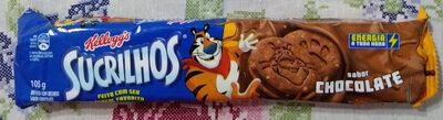 Biscoito com recheio sabor chocolate - Produto - pt