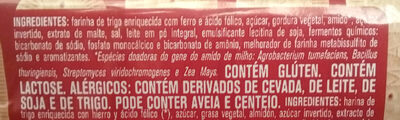 Biscoito doce maizena - Ingredientes - pt