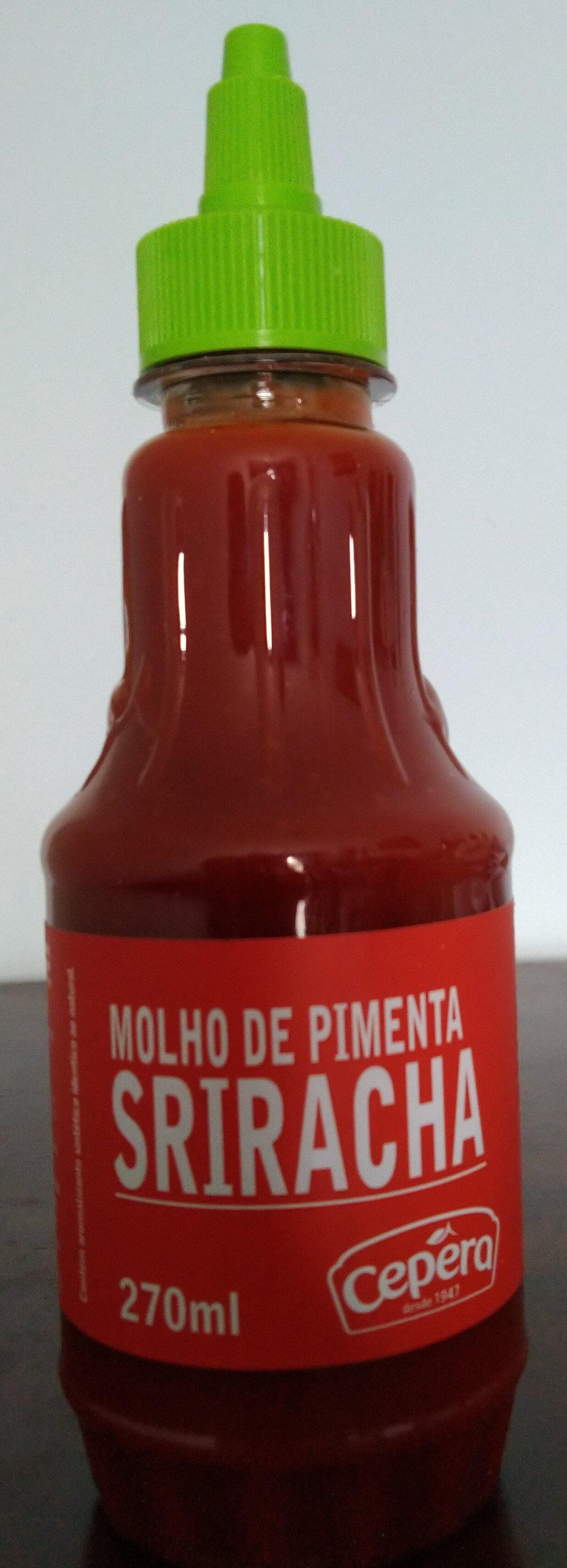 Molho de pimenta Sriracha - Produto - pt
