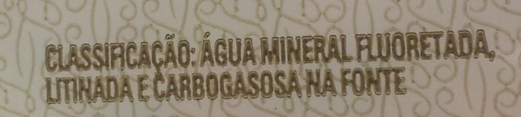 Água Mineral São Lourenço Com Gás - Ingredients