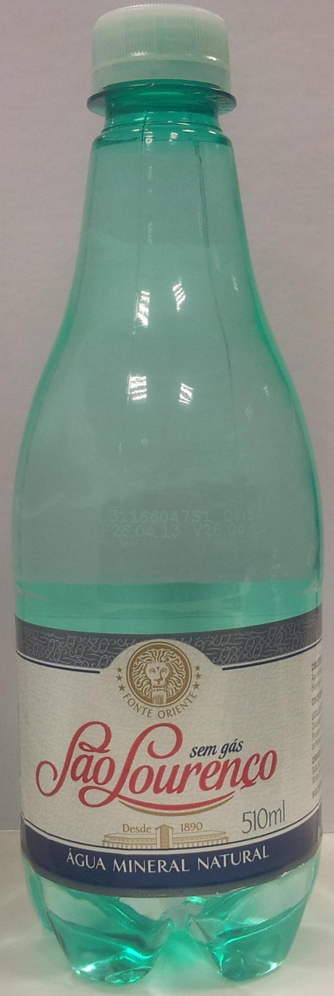 Água Mineral São Lourenço Sem Gás - Product