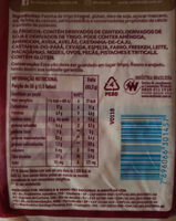 Wickbold - P�o 100% Integral - Ingredients