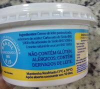 Manteiga sem sal - Ingredientes - pt