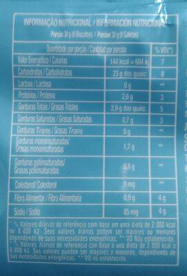 Biscoito doce amanteigado sabor artificial de leite - 3