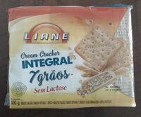 Cream Cracker Integral 7 Grãos - Produto - pt