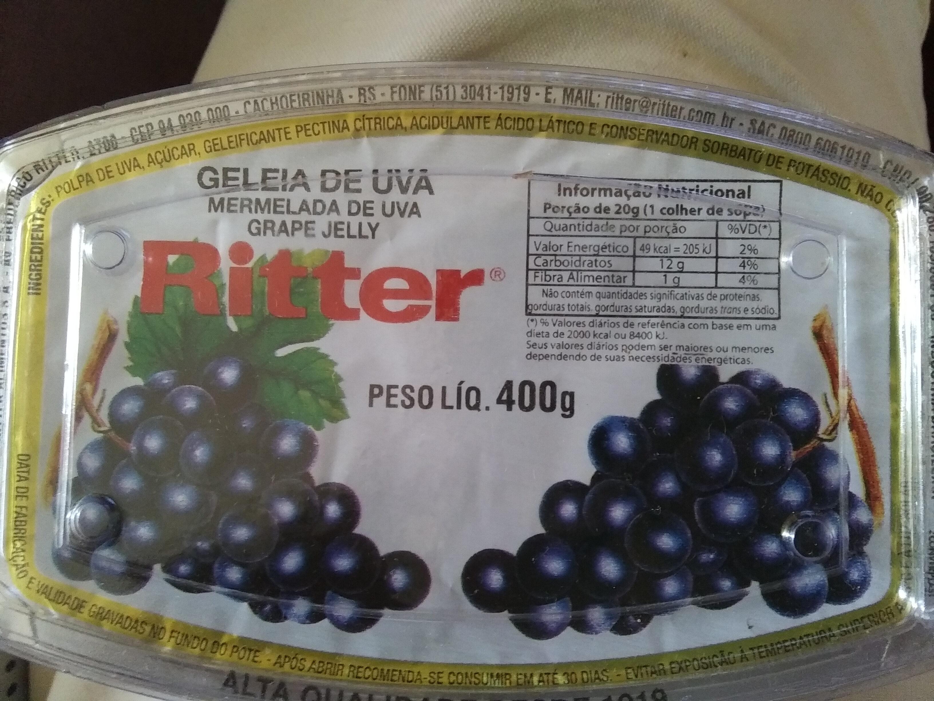 Geleia de uva - Produit - pt
