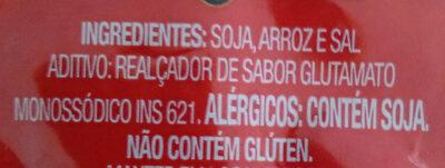Misso - Ingredientes - pt