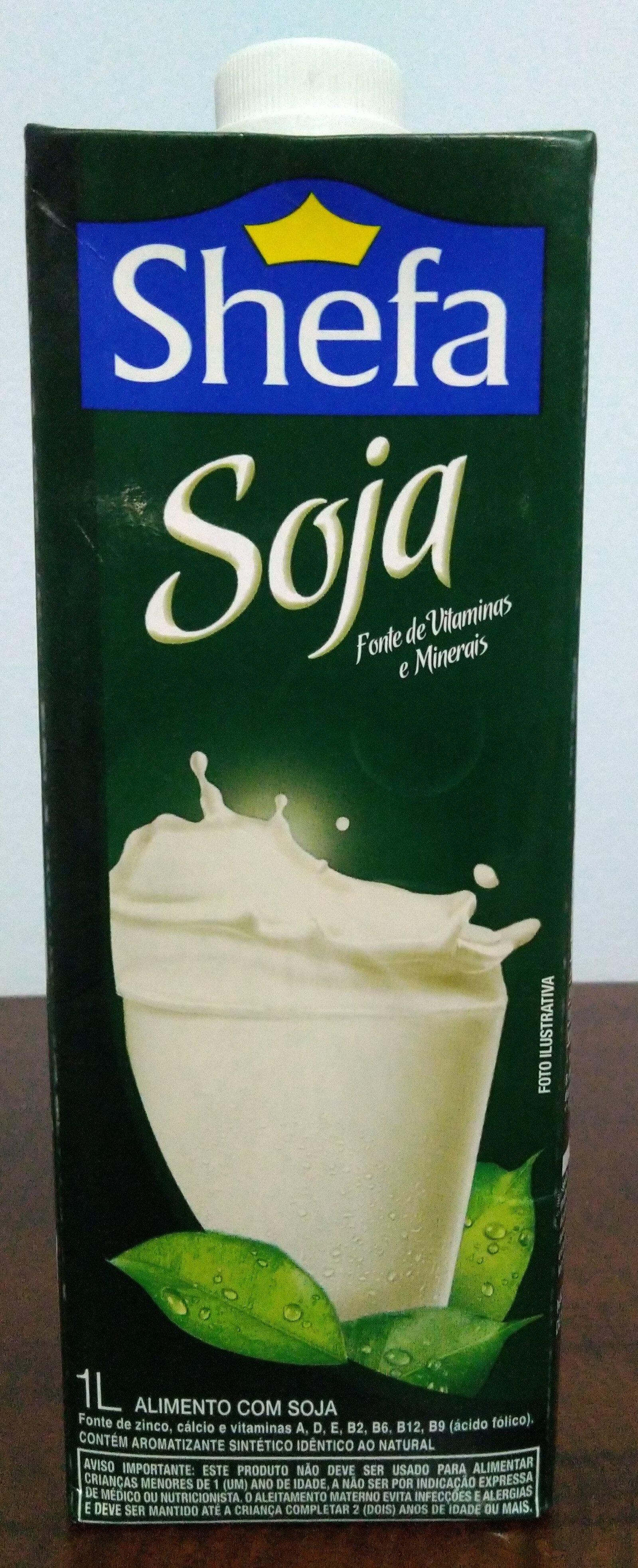Leite de soja - Produto