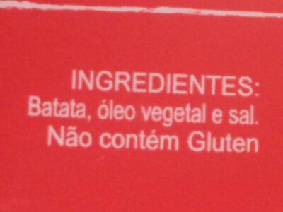 Batata Palha Original - Ingredientes