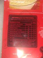 Batata Palha Original - Informação nutricional
