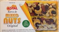Barra de mixed nuts original - Produto - fr