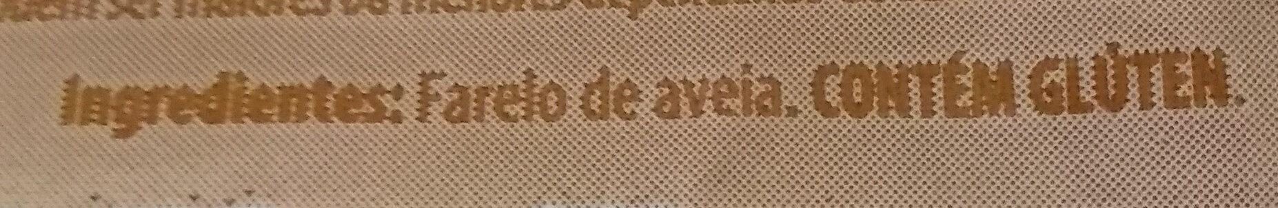 Farelo de Aveia - Ingredients - pt