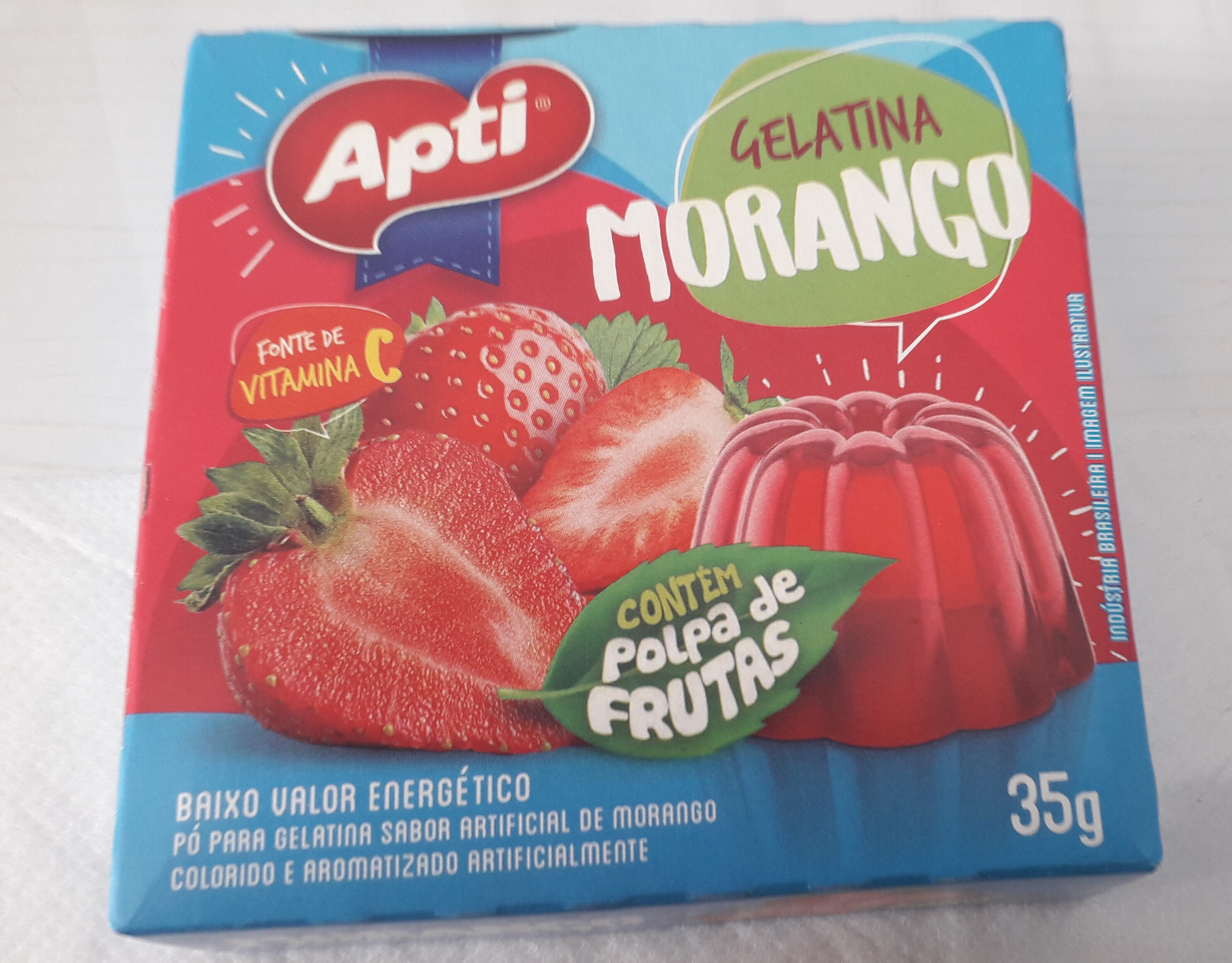 Gelatina de Morango - Product - pt