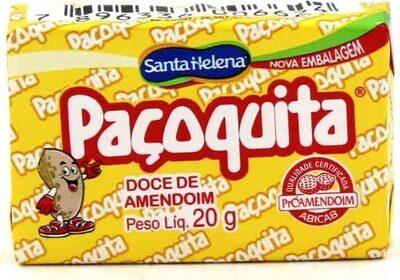 Paçoquita 3,84 GR. - Produto - fr