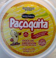Doce de amendoim formato retangular embalada - Product