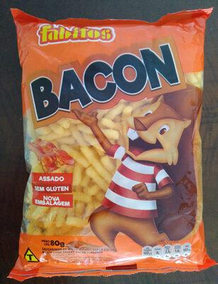 Salgadinho de milho assado sabor bacon - Produto