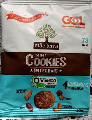 Mini cookies integrais 4 castanhas brasileiras - Product