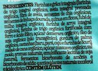 Mini cookies integrais 4 castanhas brasileiras - Ingredients