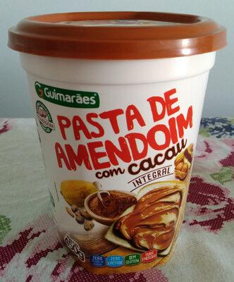 Pasta de amendoim integral com cacau - Produto - pt