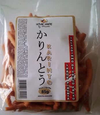 Karinto salgadinho de trigo frito sabor pimenta - Produto - pt