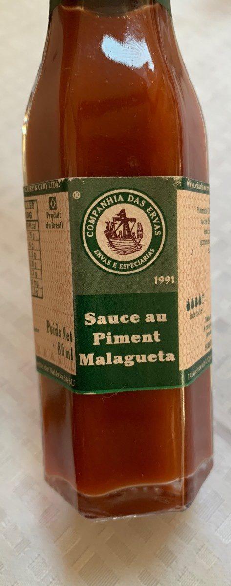 Sauce au piment Malagueta - Product