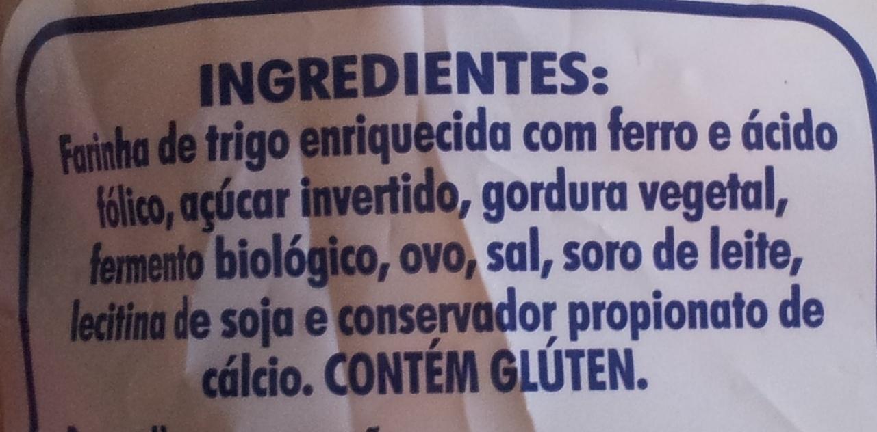Kim Bisnaguinhas - Ingredientes - pt