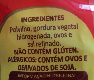Biscoito de Polvilho - Ingredientes - fr
