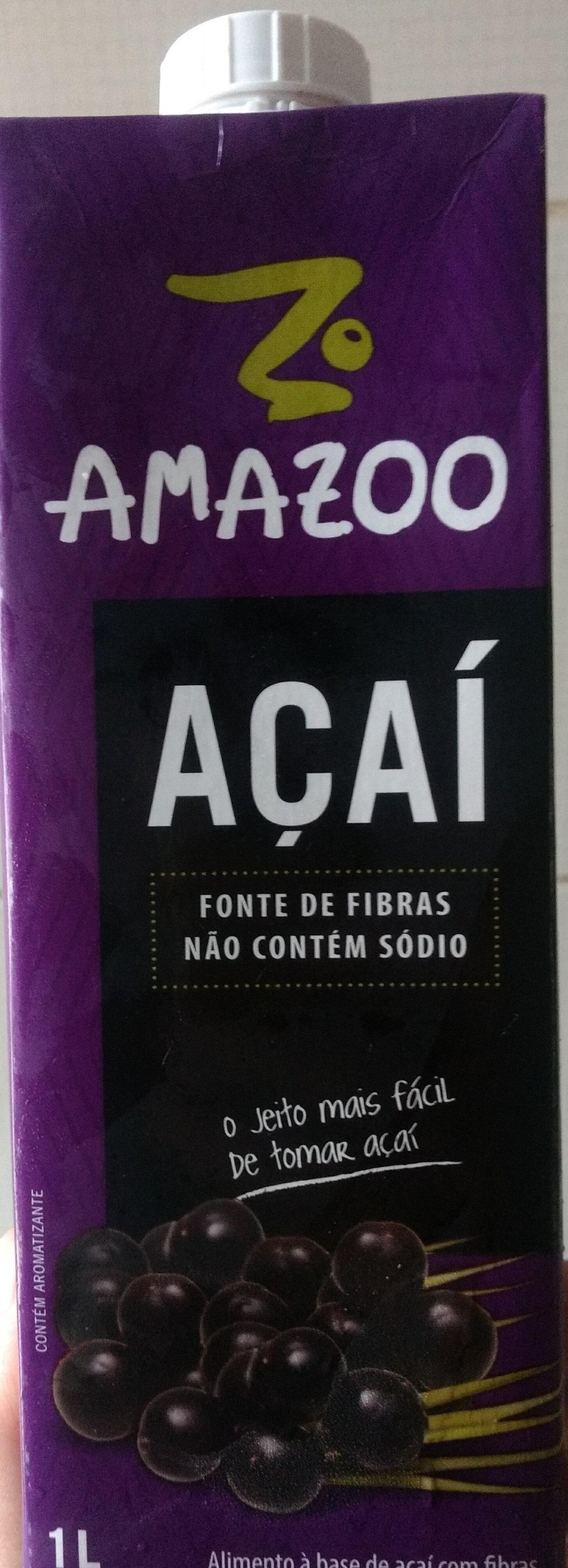 Amazoo Açaí - Produto - pt
