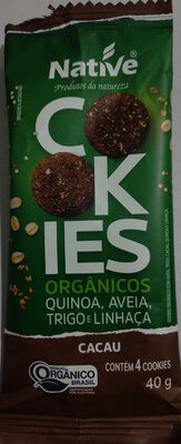 Cookies Orgânicos - Produto - pt