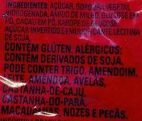 Granulado tradicional - Ingredients