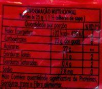 Granulado tradicional - Nutrition facts