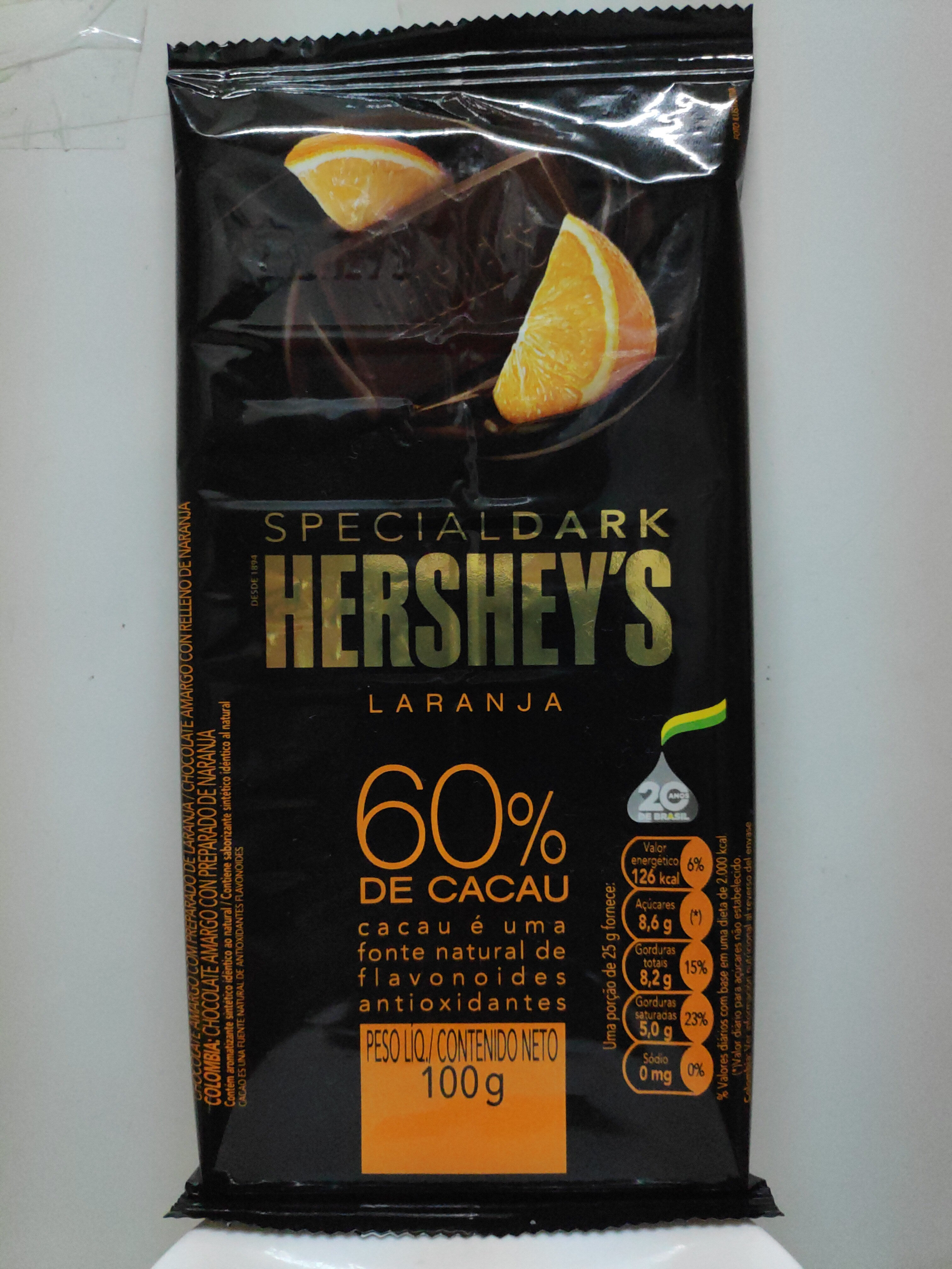 Special Dark Hershey's Laranja - Produto - pt