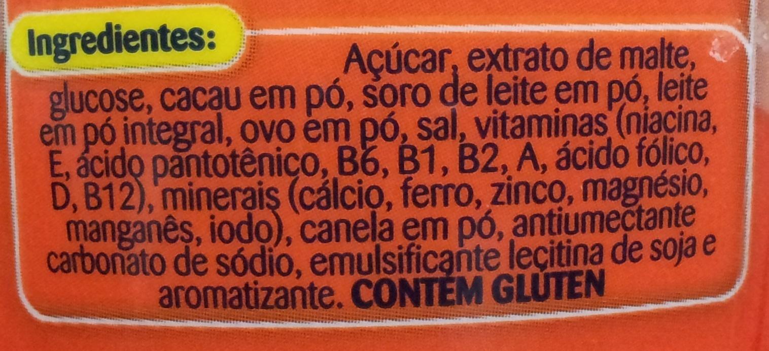 Ovomaltine Flocos Crocantes - Ingredients