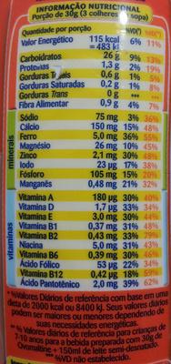 Ovomaltine Flocos Crocantes - Nutrition facts