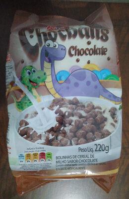 Bolinhas de cereal de milho sabor chocolate - Produto