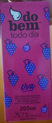 suco do bem sabor uva - Produto - pt