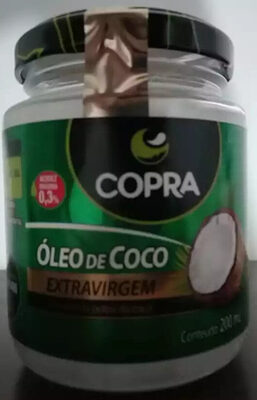 Oleo De Coco Ex. Virgem 200ML - Copra - Product - pt