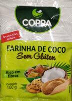 Farinha de Coco Sem Gluten - Produto - pt