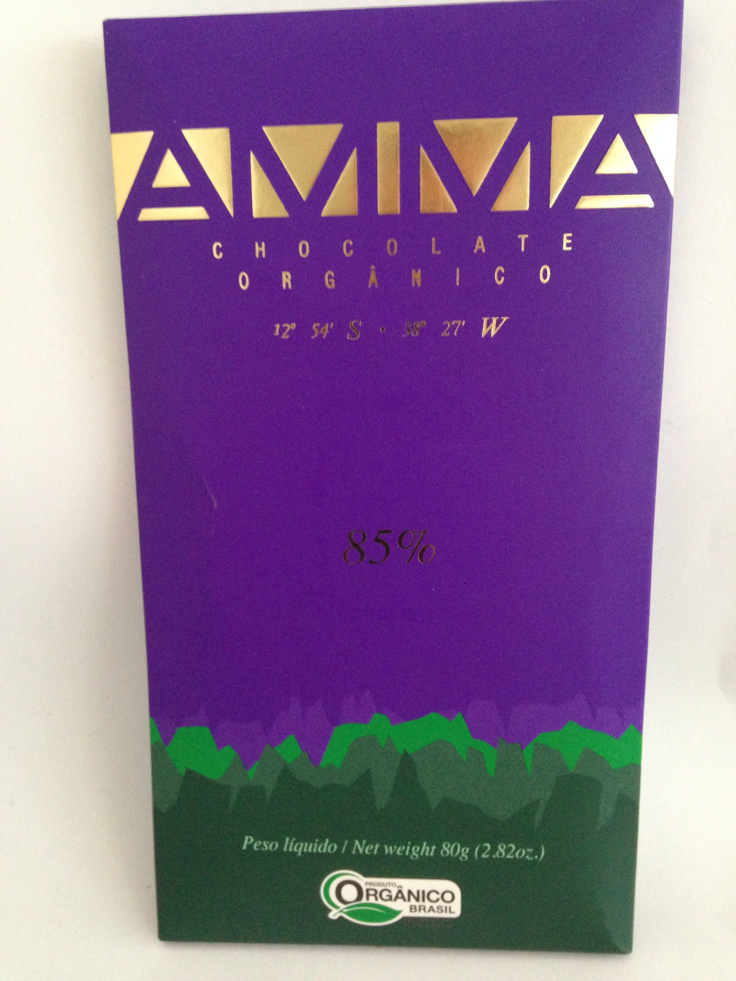 Chocolate Orgânico 85% - Produit - fr