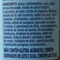 sustagem kids - Ingredients - pt