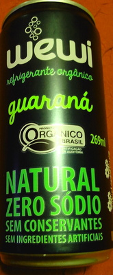 Guarana Natural zero sodio sem co conservantes sem ingredientes artificials - Product
